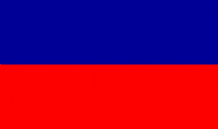 HAITI (NO CREST) - 5 X 3 FLAG